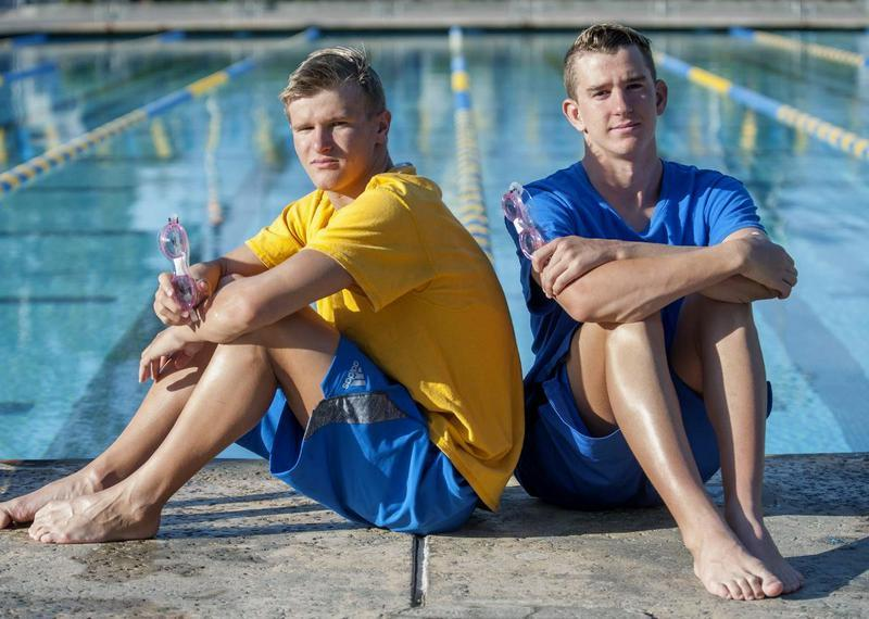 Two Mission Viejo Brothers Honored By USA Swimming With Hero Awards