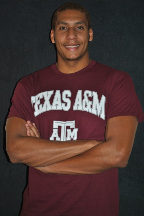 Texas 6A 100 Free Champion Mike Thibert Verbals to Texas A&M