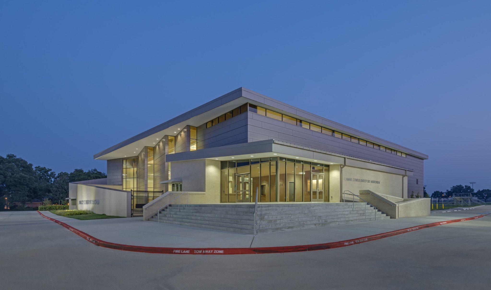 Texas Style High School Pools