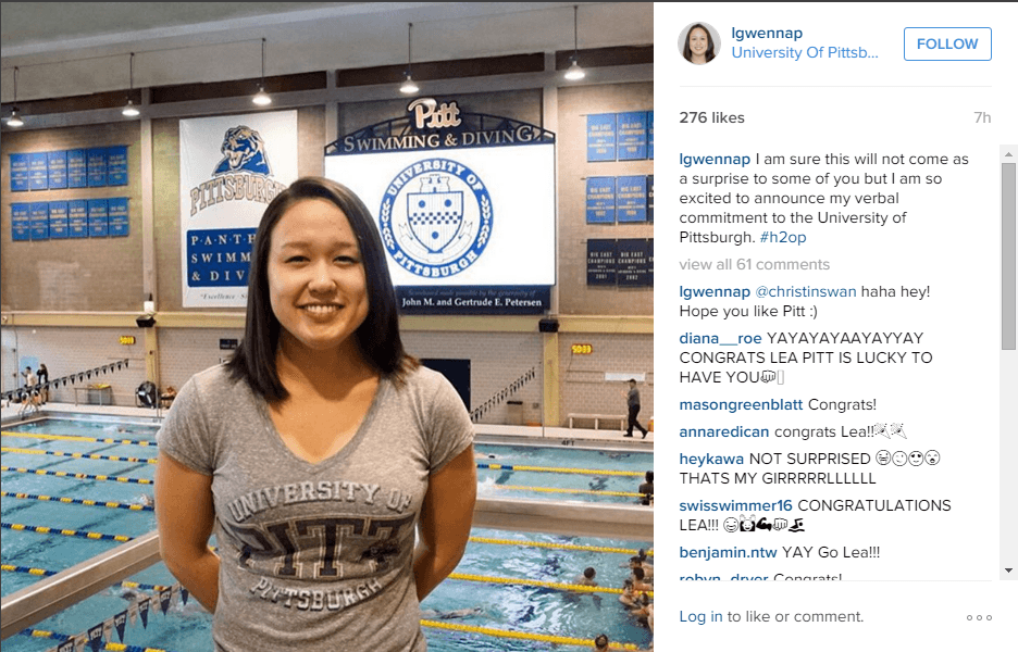 Lea Gwennap Kicks Off Class of 2017 With Verbal Commitment to Pitt