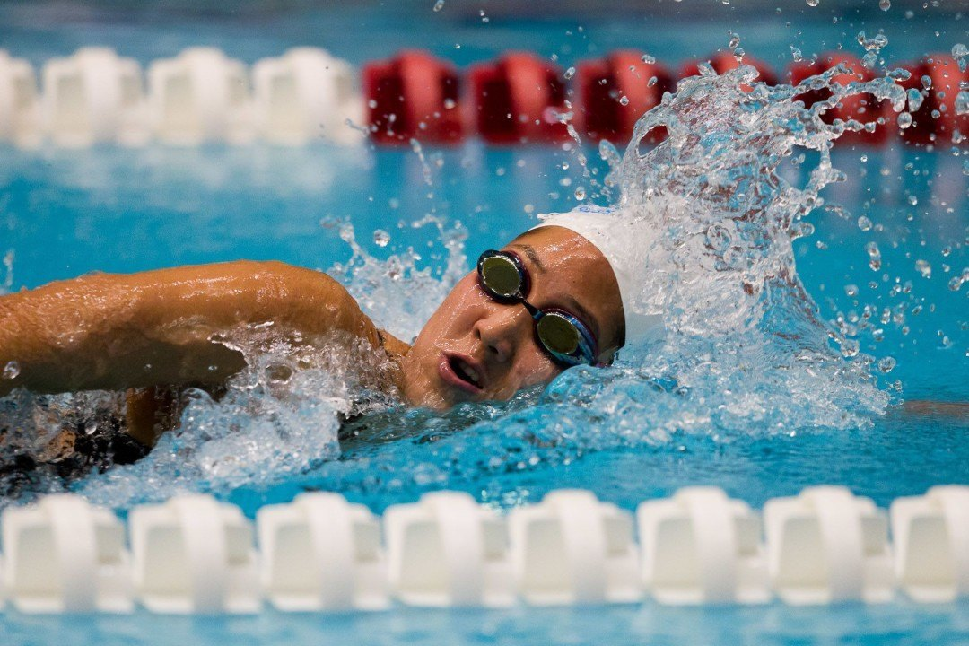 Pool Records Fall as Harvard Trumps Columbia