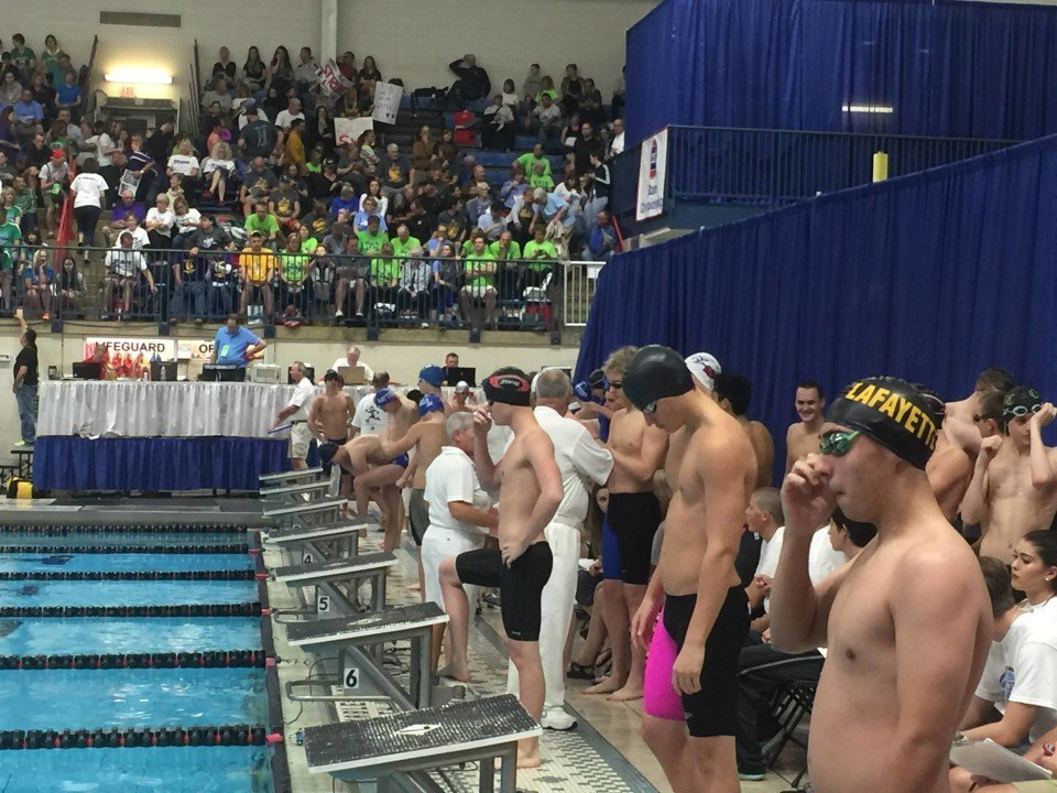 Alexander Downs Two State Marks at Missouri HS Prelim