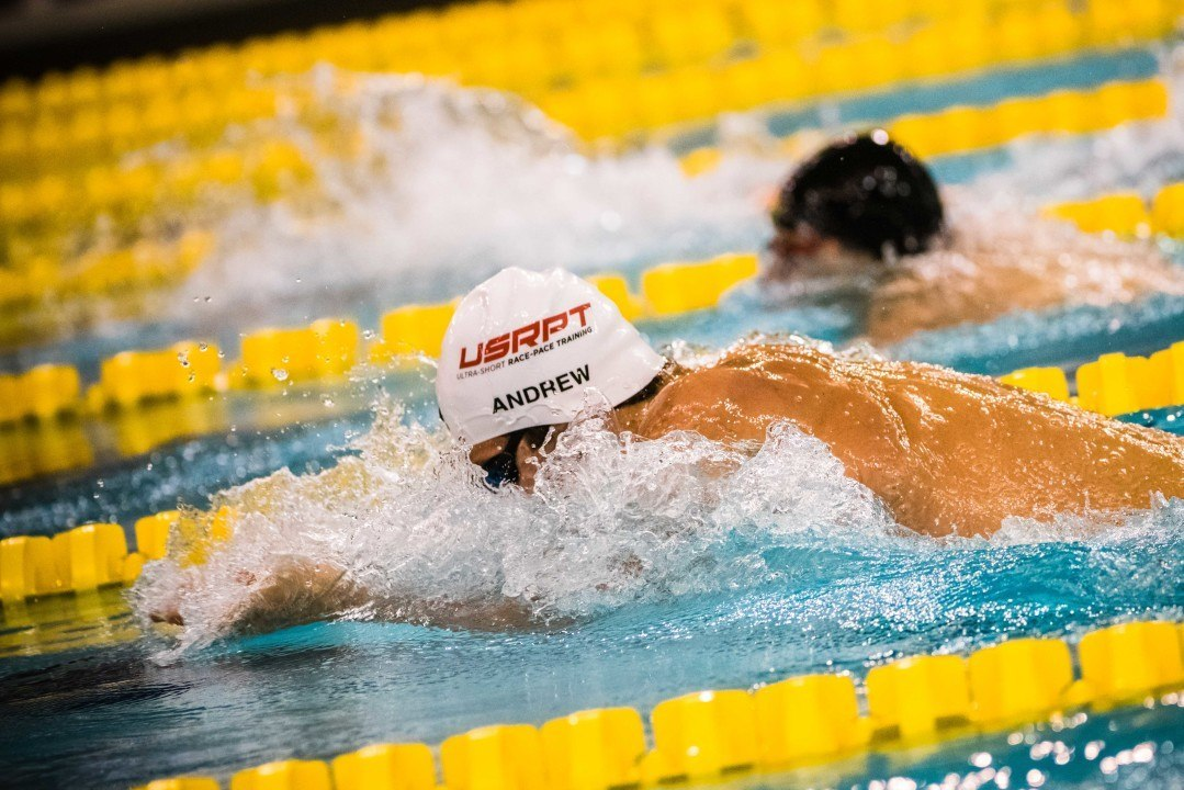 Michael Andrew Re-Breaks 100 Breast NAG With 1:00.37