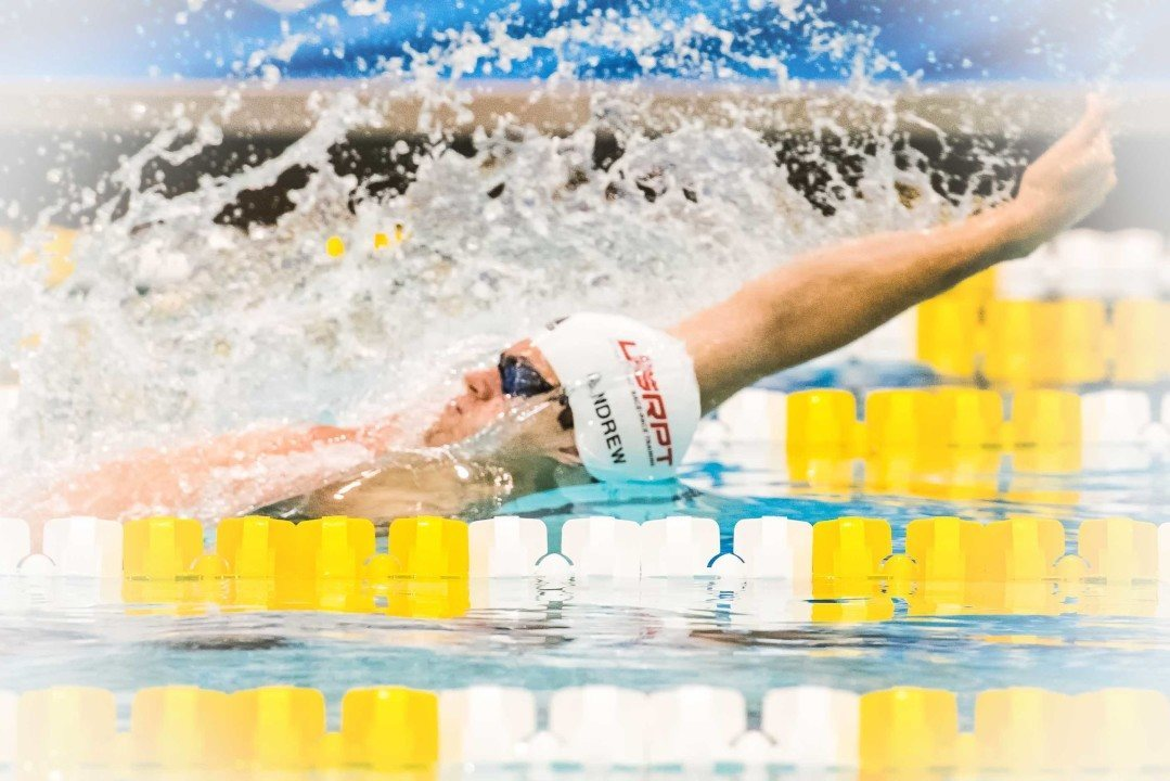 Michael Andrew Scratches 100 Back For Day 3 Finals At West Juniors