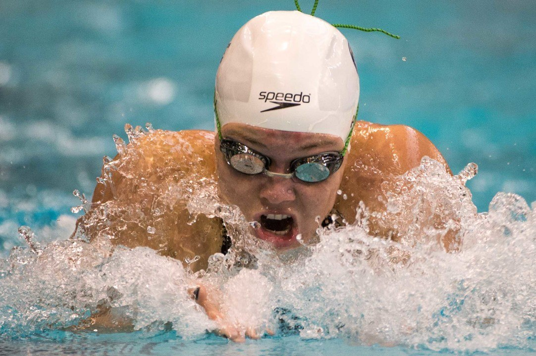 Nikol Popov Only Did 1 Underwater Pullout on 200 Medley Breaststroke
