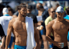 Michael Phelps and Chase Kalisz  (courtesy of Rafael Domeyko)
