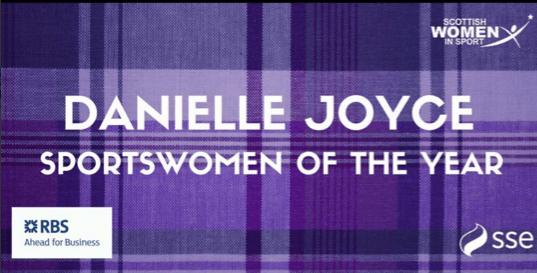 Danielle Joyce Earns Scottish Sportswoman of the Year