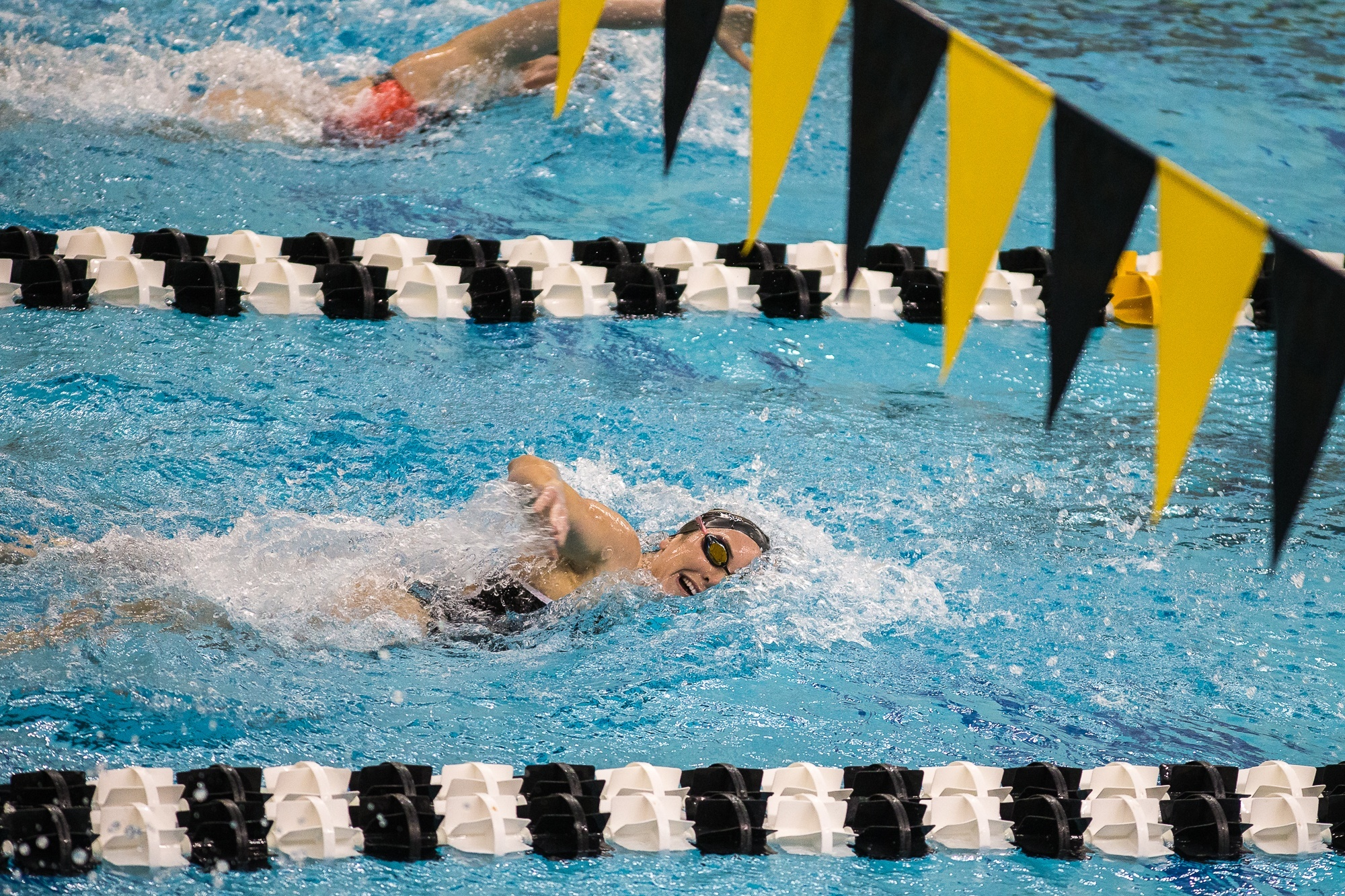 Davis Improves Upon 200 Free Record as Purdue Pulls Away at Home