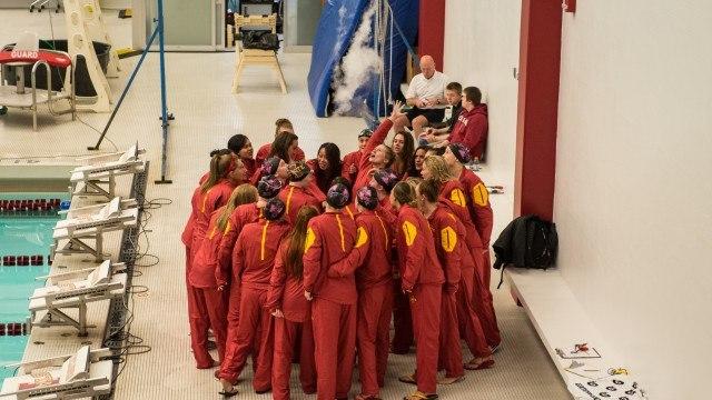 ISU Wins Double Dual; Coach has 100th Dual Meet Win