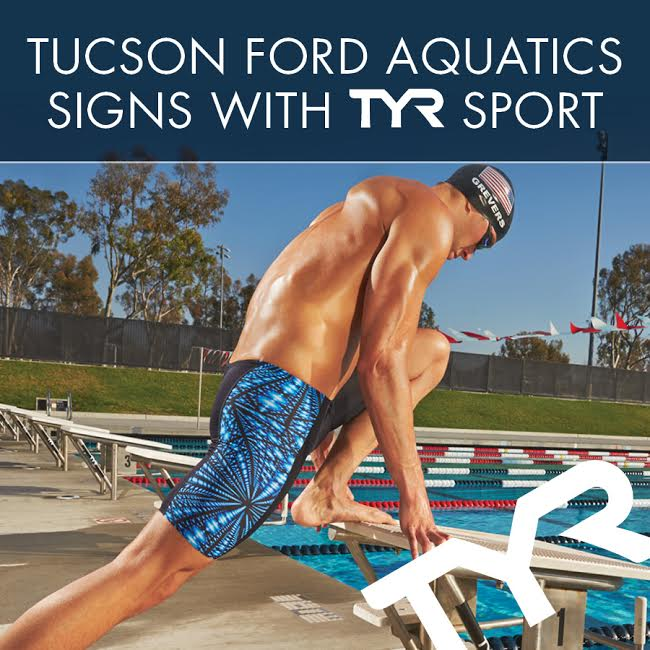 Tucson Ford Aquatics Signs with TYR Sport