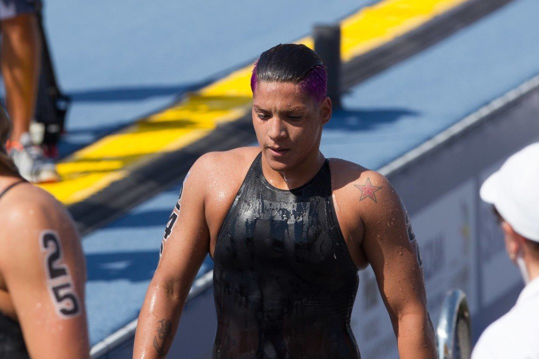 2015 Swammy Awards – Female Open Water SOTY Ana Marcela Cunha