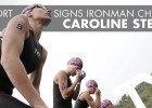 Caroline_Steffen, TYR Sport signing (Courtesy of TYR Sport)