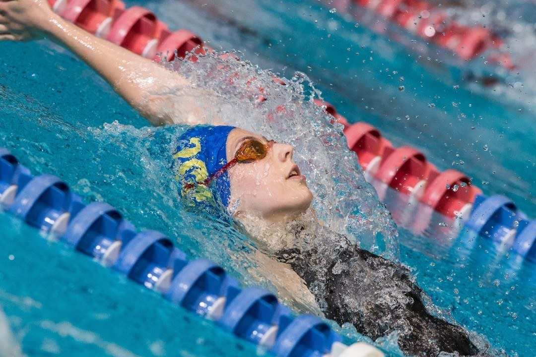 Kaitlin Harty Posts 2:12.6 to Win 200 Back on Night 2 of Y Nats