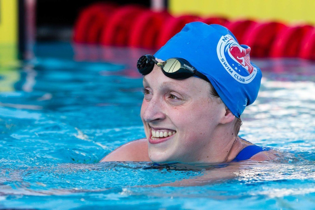 American Record For Katie Ledecky: First Sub-9:00 1000 Free In History