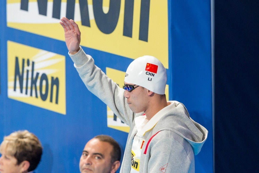 Li Zhuhao Ties Chinese Record in 100 Fly in 51.24