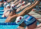 Matt Grevers ready in the mixed medley relay at the US Masters national championship in San Antonio (photo: Mike Lewis)