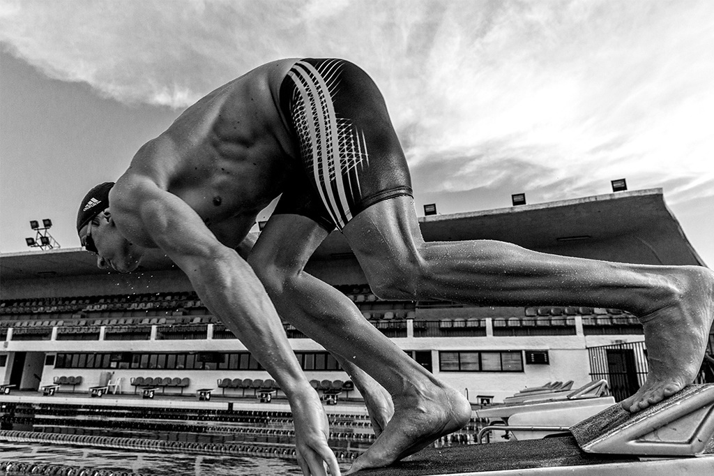 Cesar Cielo Adidas Swim Photo Vault