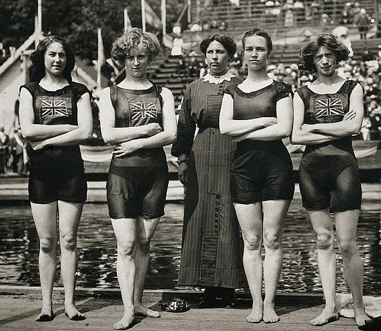 What Was Swimming Like 100 Years Ago?