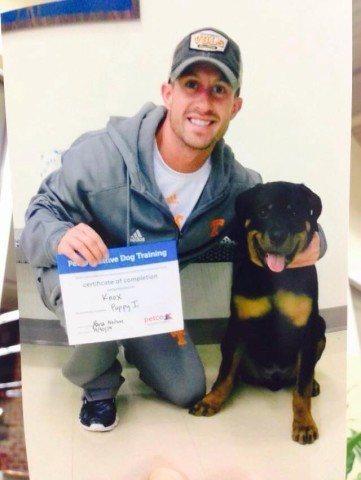 Tyler Fenwick Knox puppy