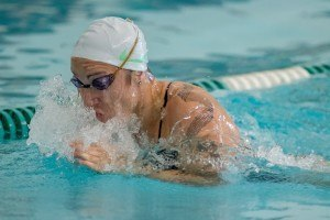 DENTON, TX - SEPTEMBER 26: North Texas Mean Green Swimming & Diving Green & White swim meet at Pohl Recreation Center. (Photo by Rick Yeatts)