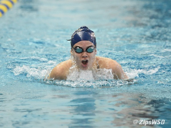 Ragen Engel Breaks 50 Free Pool Record, Leads Akron In Win Over Xavier