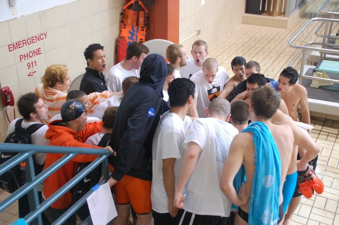 Princeton Men Lead Harvard and Yale After Day 1 of HYP