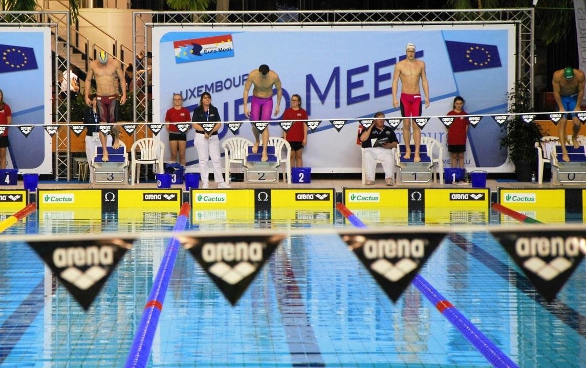 Wierling, Heintz, Köhler, Steiger, Höpink, Rieder beim Euro Meet
