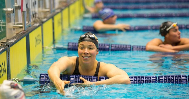 American Kate Ziegler won the 400 free by six seconds