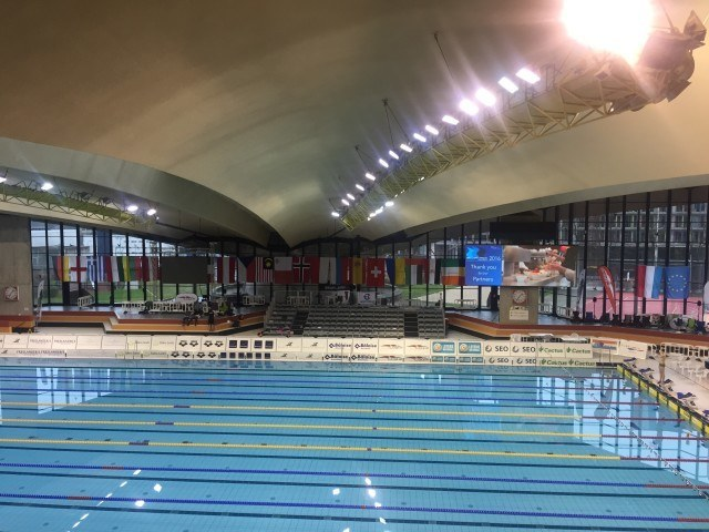 D'Coque Aquatic Center Luxembourg, Euro Meet 2016