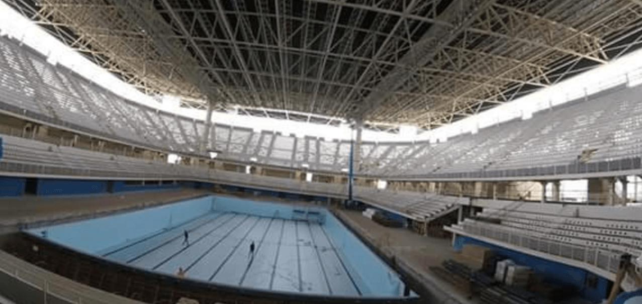 Olympic Aquatics Stadium May Not Be Ready For April's Maria Lenk