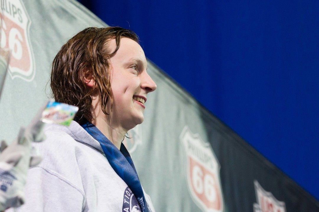 Katie Ledecky Named To TIME Magazine's 'Most Influential People'