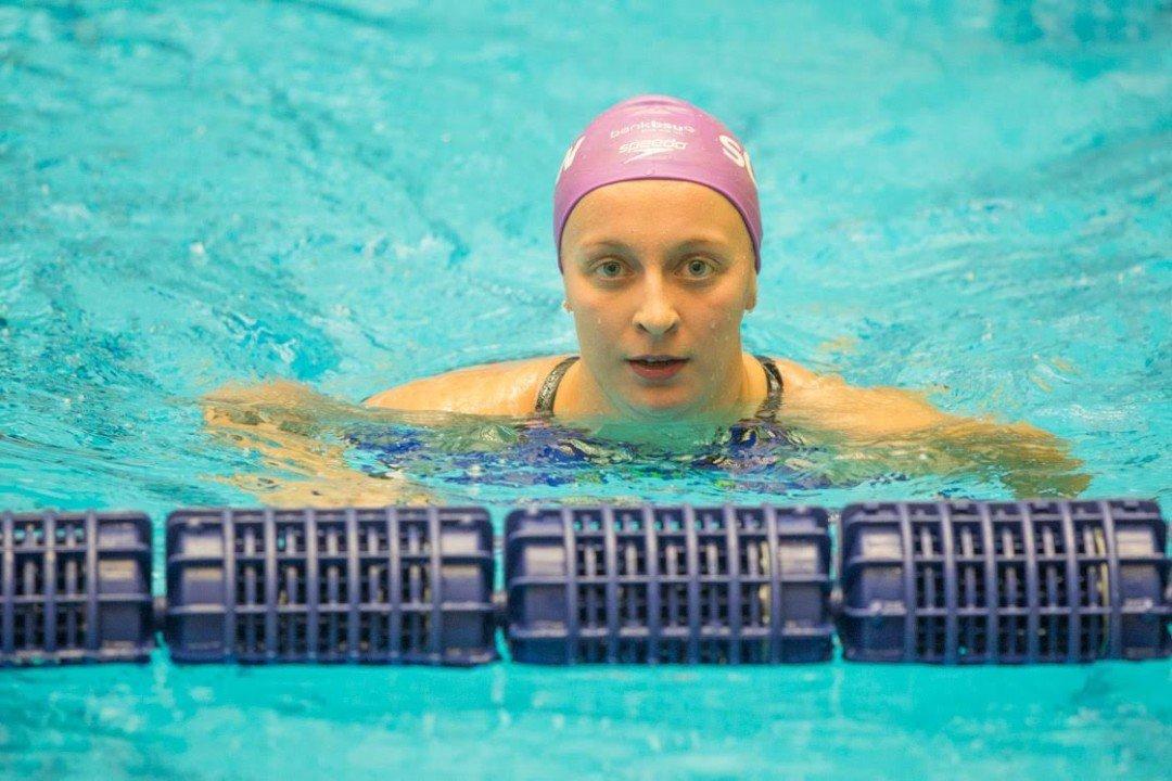 Maria Ugolkova Smashes Own Swiss National Record in 200 IM