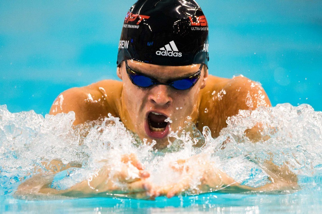 Michael Andrew Becomes Youngest Sub-Minute American Breaststroker Ever