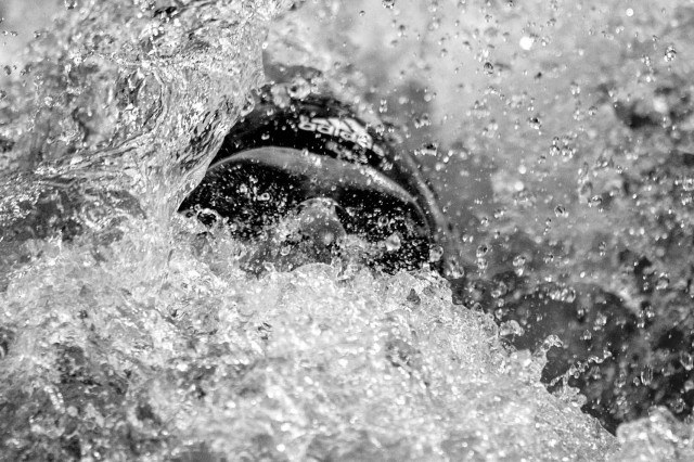 Michael Andrew in the prelims of the 200 IM at the pro swim series stop in Austin Texas (photo: Mike Lewis)