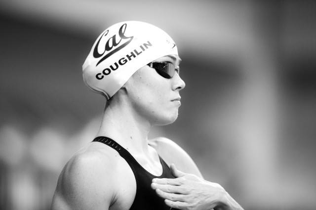 Natalie Couglin in the 50 free Austin Texas (photo: Mike Lewis)