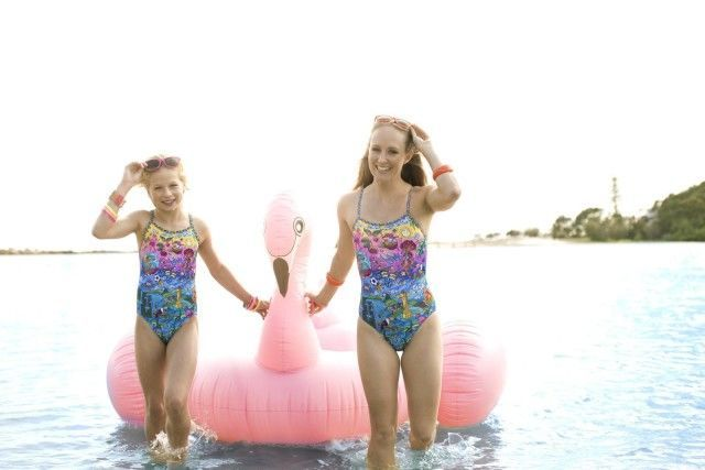 Join the AMANZI Girls on their road to Rio in the AMANZI Rio One Piece