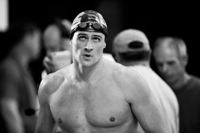 Ryan Lochte at the Pro Swim Series stop in Austin Texas (photo: Mike Lewis, Ola Vista Photography)