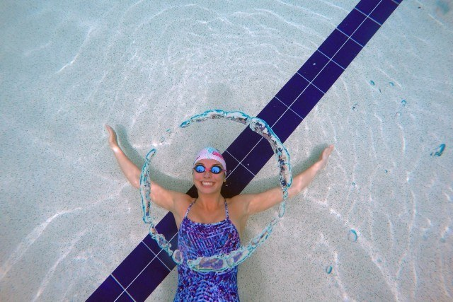 Up and coming Australian Swimmer Calypso Sheridan is a sponsored AMANZI Girl
