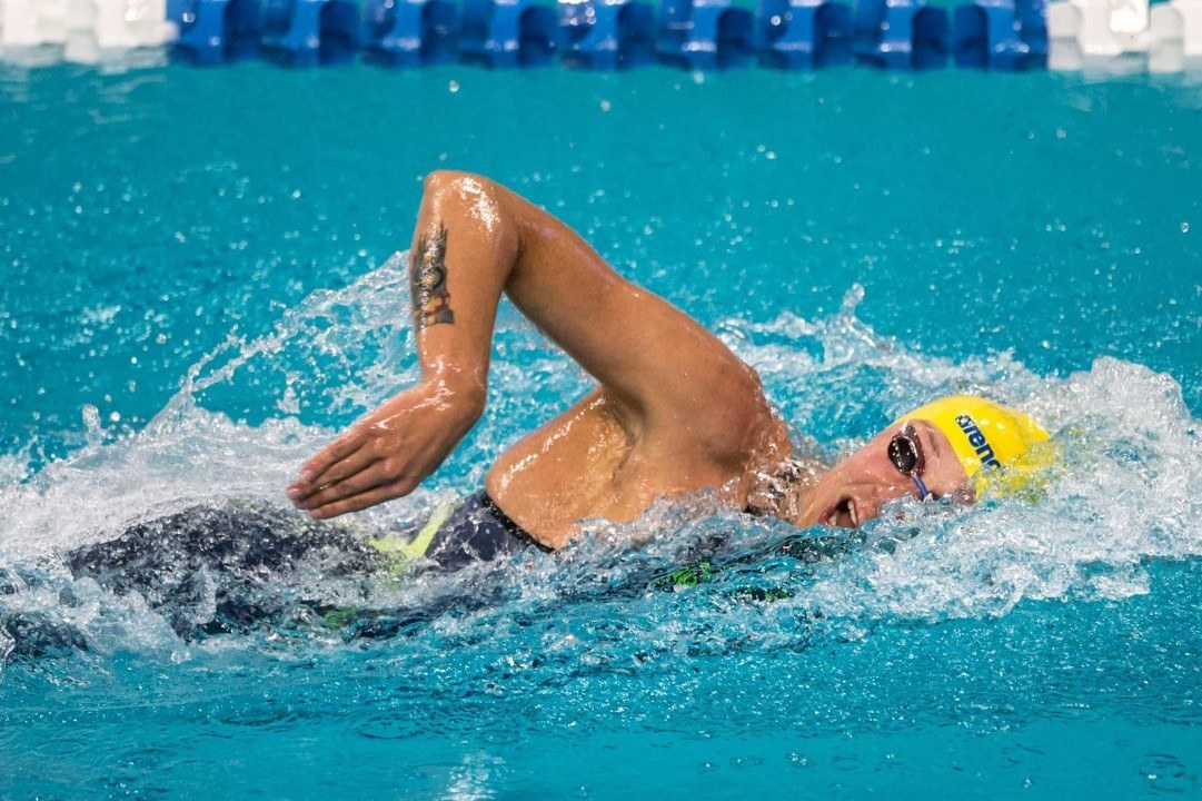Sjöström again fast in prelims at Mare Nostrum Tour in Barcelona