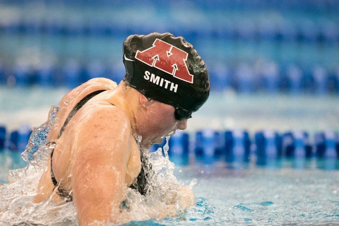 2017 Women's NCAA Championships: Day 2 Prelims Scratch Report