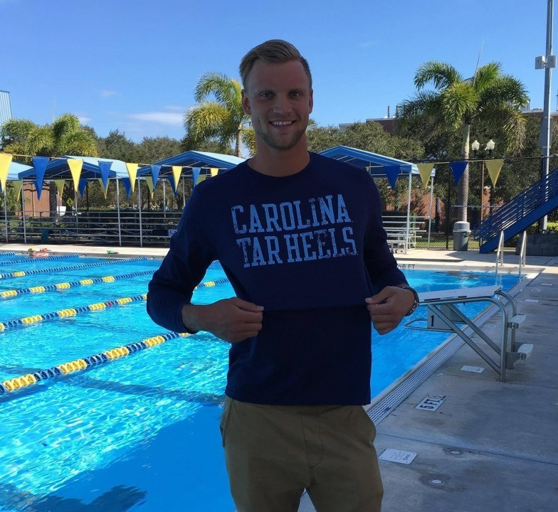52.7 Breaststroker Craig Emslie Verbally Commits to Tar Heels for 2016