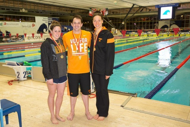 University of Tennessee post grads and event-winners Molly Hannis, Brad Craig, and Kate Ziegler. via Domeyko Photography
