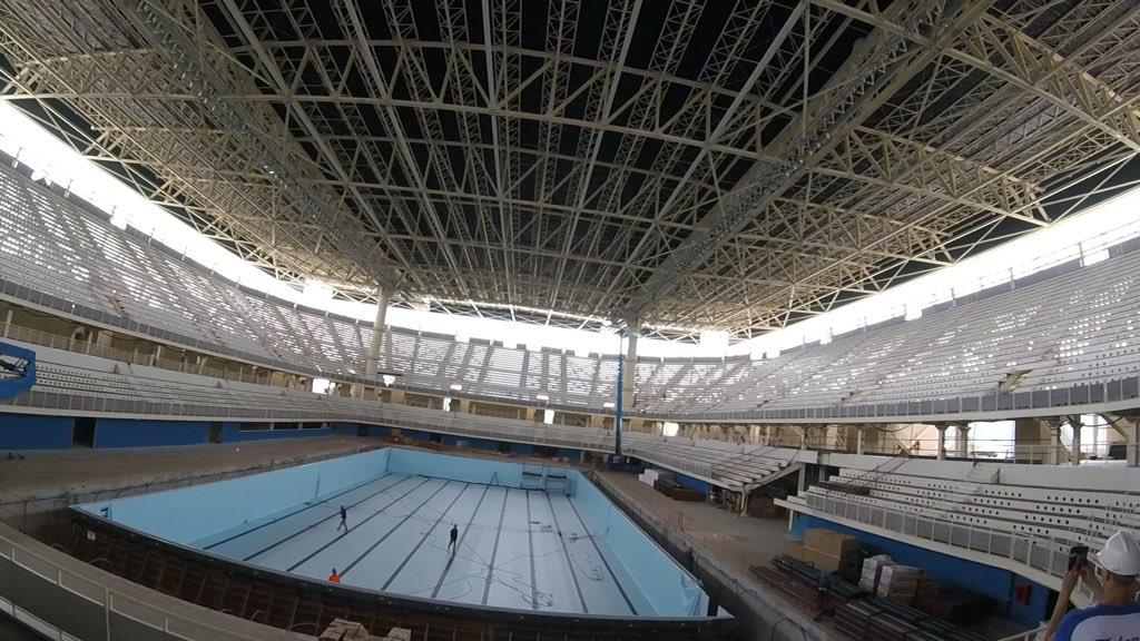 Testwettkampf im Oympischen Pool 2016: Maria Lenk Trophy,15.-20. April