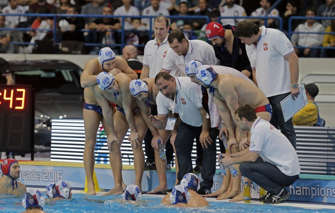 Serbia Moves On to Men's Water Polo Semis With Win over Spain
