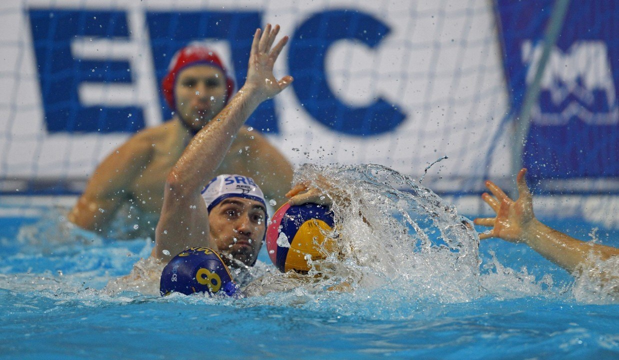 Serbia Wins Third Straight European Water Polo Title