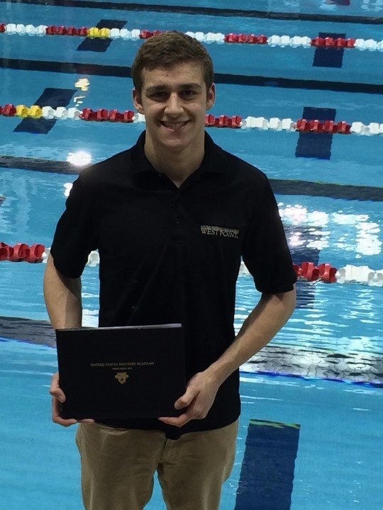 OSSC Backstroker Austin Beam Commits to Army West Point