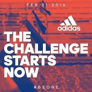 adidas banner ad, BeOne Challenge (courtesy of adidas swim)