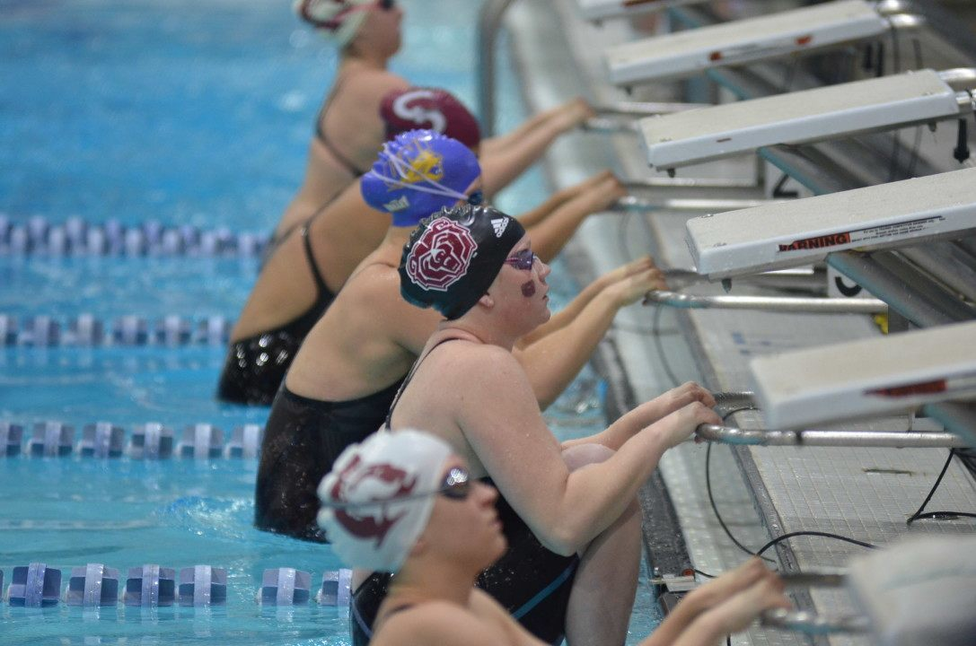 Missouri State Crushes 200 MR Record to Lead MVC After Day 1
