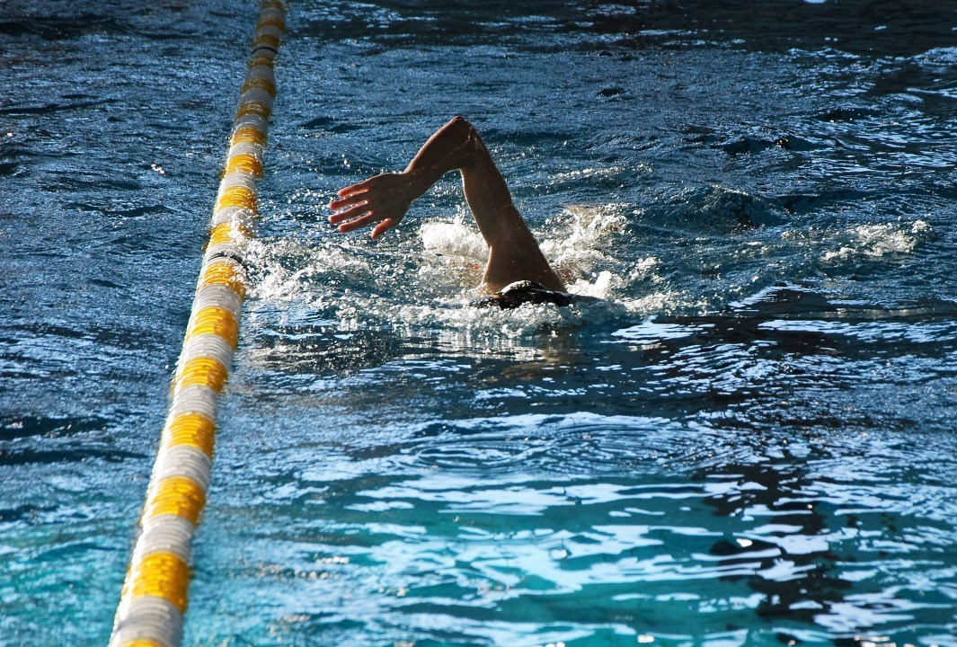 Florian Wellbrock in starken 15:08,05, 1500 m Freistil