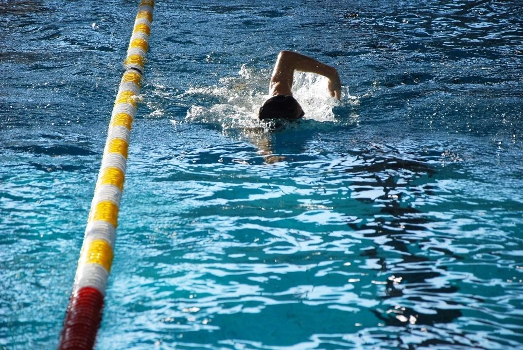 Artem Selin stellt neuen Jahrgangsrekord auf, Swim Cup Den Haag